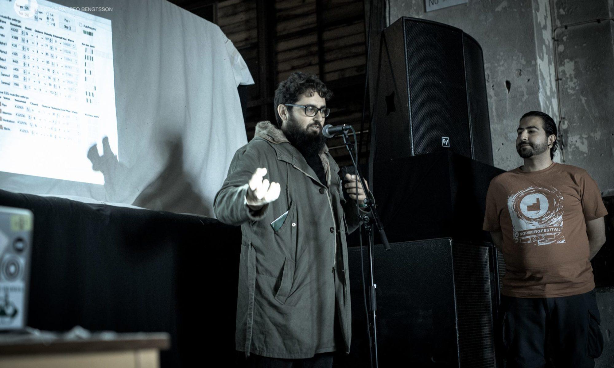 Norberg Festival Mimerlaven con Luis Xandy Anjos y Juanma LoDo.