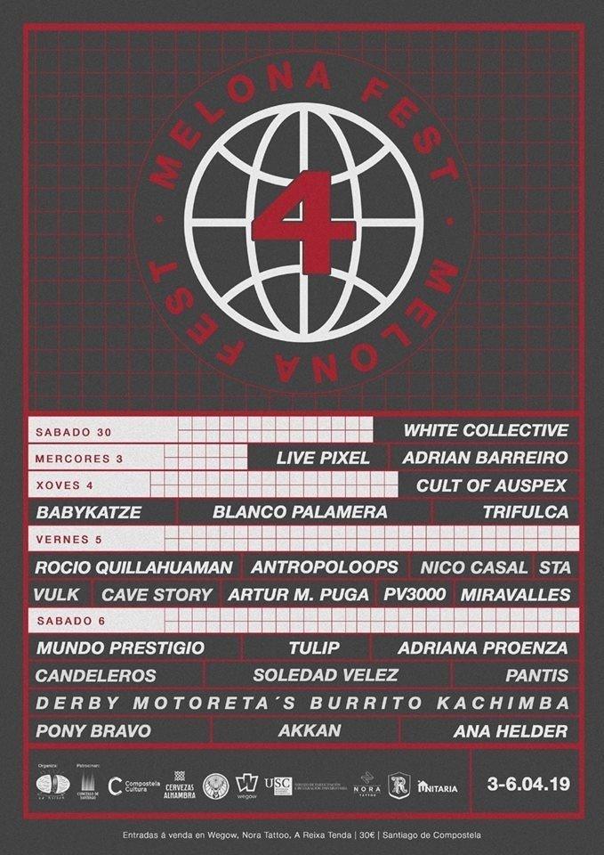 Live Pixel 3 de abril Riquela Santiago Melona Fest