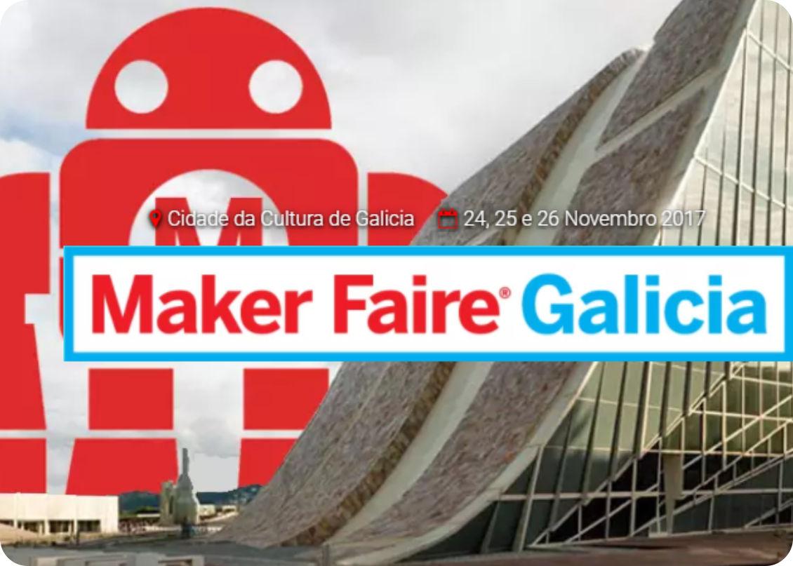 Galicia Maker Faire Telebosquexo Juanma LoDo y Marta Verde